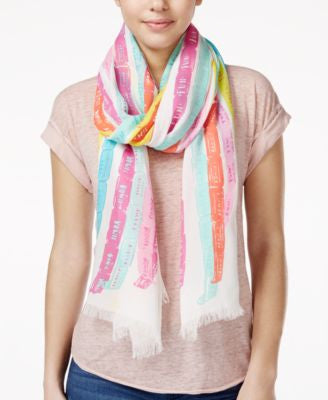 kate spade new york Tickets Oblong Scarf