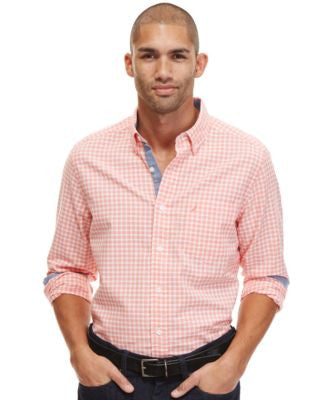 Nautica Men's Gingham Oxford Shirt