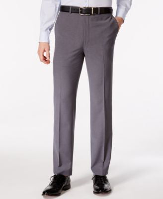 Lauren Ralph Lauren Men's Grey Check Classic-Fit Dress Pants