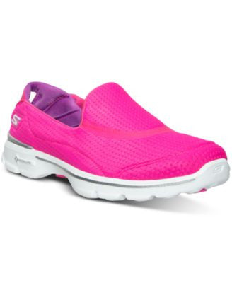 Skechers Women's GOwalk 3 - Unfold Walking Sneakers from Finish Line