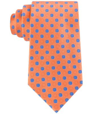 MICHAEL Michael Kors Men's Boston Medallion Classic Tie