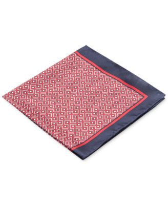 Ryan Seacrest Distinction Men's Carson Geo Pocket Square, Only at Vogily