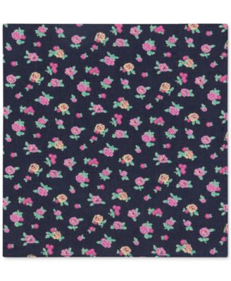 Tommy Hilfiger Men's Floral-Print Pocket Square