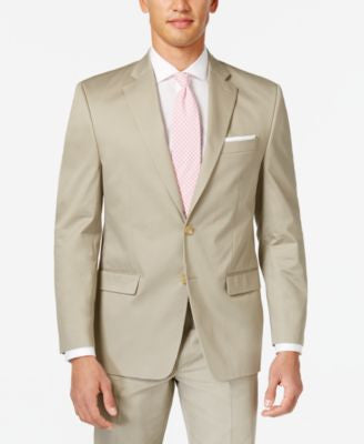 Lauren by Ralph Lauren Tan Solid Classic-Fit Jacket