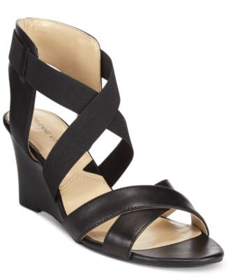 Adrienne Vittadini Raenie Wedge Sandals