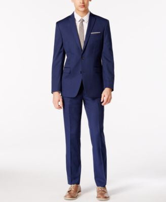 Bar III Colbalt Blue Slim-Fit Suit Separates, Only at Vogily's