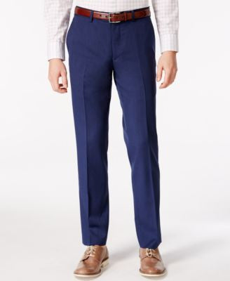 Bar III Cobalt Blue Slim-Fit Pants, Only at Vogily