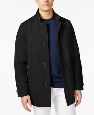 MICHAEL Michael Kors Men's Chaz Slim Fit Raincoat