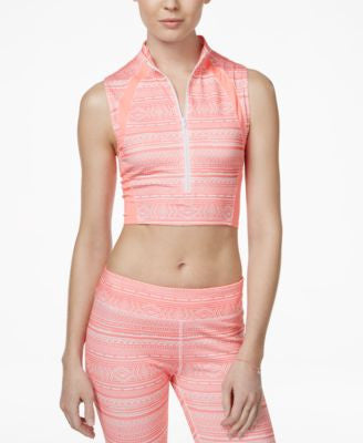 Energie Active Juniors' Marcela Sleeveless Printed Midi Top
