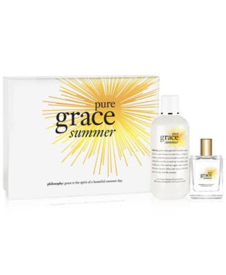 philosophy pure grace summer 2-Pc. set