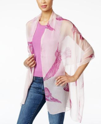 Style & Co. Hummingbird Wrap, Only at Vogily