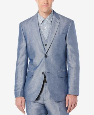Perry Ellis Men's Raclan Twill Jacket