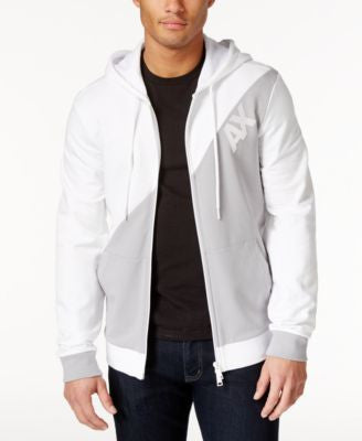 Armani Exchange Men's Logo Hoodie Jacket