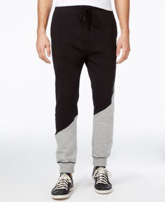 Armani Exchange Men's Contrast Blocking Logo Pants