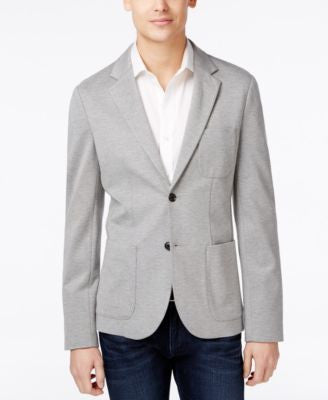Armani Exchange Men's Ponte Knit Blazer