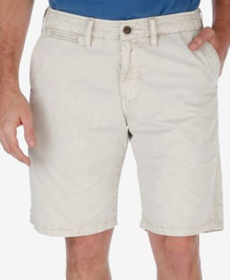 Lucky Brand Men's Twill Flat-Front Shorts
