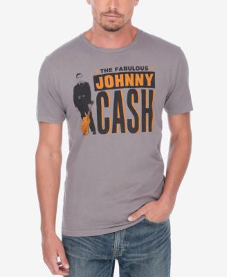 Lucky Brand Men's Johnny Cash Poster Graphic-Print T-Shirt