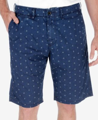 Lucky Brand Men's Printed Flat-Front Shorts
