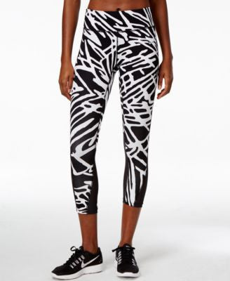 Nike Epic Lux Palm-Print Dri-FIT Cropped Leggings