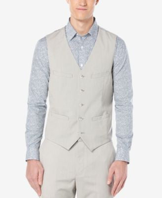 Perry Ellis Men's Chambray Vest