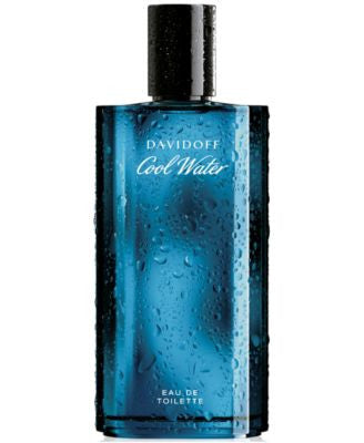 Davidoff Cool Water Eau de Toilette Spray for Him, 4.2 oz.