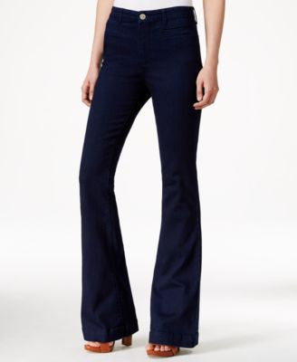 Maison Jules High-Waist Rinse Wash Flared Jeans, Only at Vogily