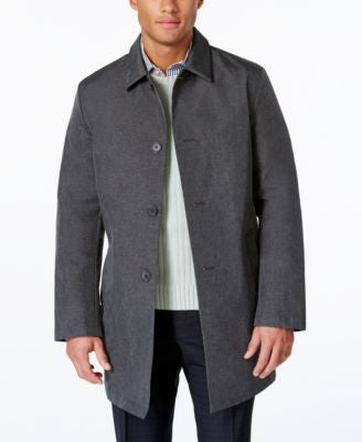 DKNY Men's Darryl Slim Fit Raincoat