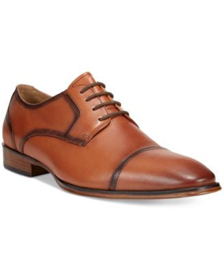 Bar III Men's Brock Cap Toe Derby Oxfords, Only at Vogily