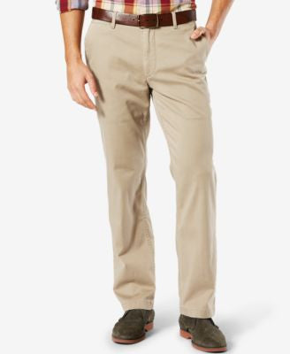 Dockers Pacific Wash Khaki Straight Fit Stretch Pants