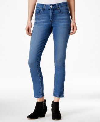 Maison Jules Cropped Skinny Dream Wash Jeans, Only at Vogily