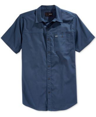 Hurley Men's Chopper Short-Sleeve Shirt