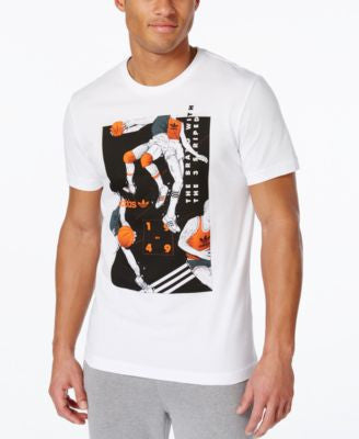 adidas Originals Men's Basketball Graphic T-Shirt