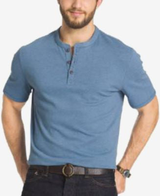 G.H. Bass & Co. Big and Tall Short-Sleeve Henley T-Shirt