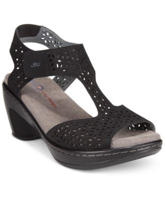 JBU by Jambu Women's Chloe Wedge Sandals