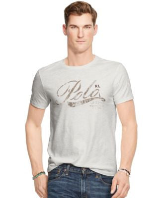Polo Ralph Lauren Men's Graphic Jersey Crew Neck T-Shirt