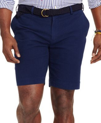 Polo Ralph Lauren Men's Big & Tall Classic-Fit Embroidered Seersucker Shorts