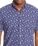 Polo Ralph Lauren Men's Short-Sleeve Printed Oxford Shirt