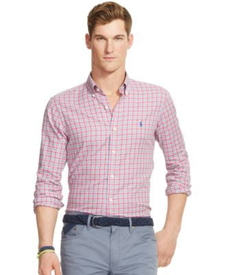 Polo Ralph Lauren Men's Plaid Oxford Shirt