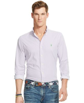 Polo Ralph Lauren Men's Striped Stretch Performance Shirt