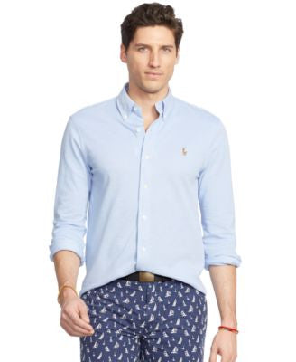 Polo Ralph Lauren Men's Knit Oxford Shirt