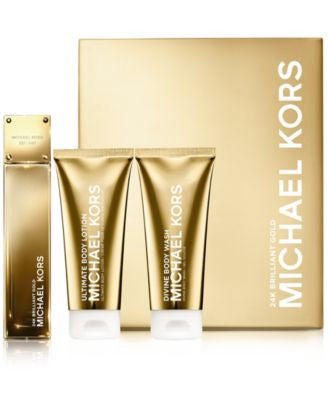 Michael Kors Collection 24K Brilliant Gold Deluxe Gift Set