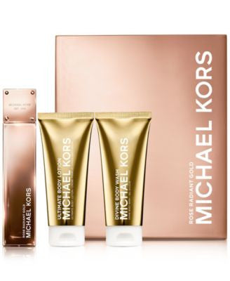 Michael Kors Collection Rose Radiant Gold Deluxe Gift Set
