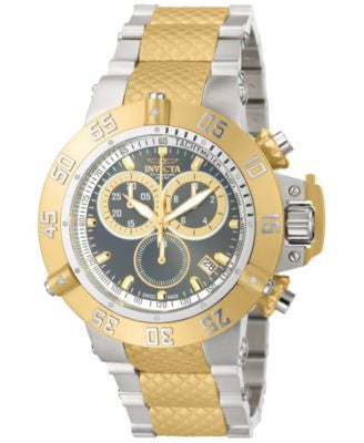 Invicta Men's Swiss Two-Tone Stainless Steel Bracelet Watch 50mm 15948
