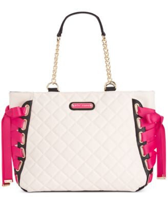 Betsey Johnson Tie Up Tote