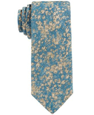 Con.Struct Men's Floral-Camo Slim Tie