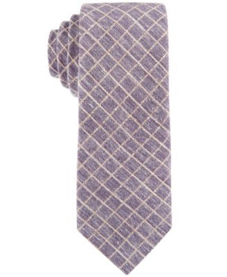Con.Struct Men's Grid Slim Tie