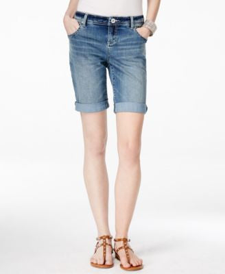 INC International Concepts Monday Wash Denim Shorts, Only at Vogily
