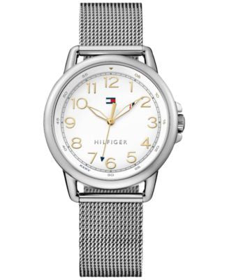 Tommy Hilfiger Women's Casual Sport Stainless Steel Mesh Bracelet Watch 36mm 1781658