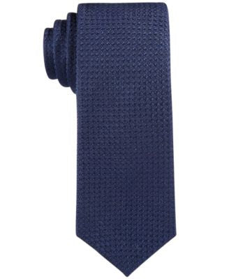 Con.Struct Men's Solid Knit Slim Tie