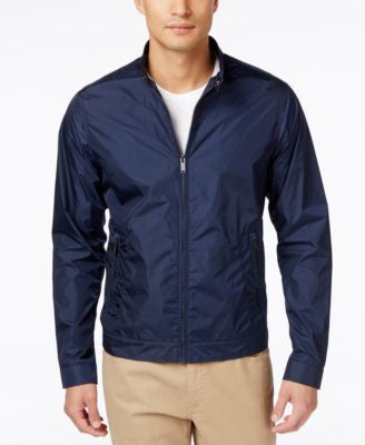 Michael Kors Men's Nylon Moto Jacket